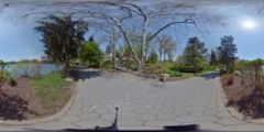 Thumbnail for Japanese Garden of Buffalo : Paved Pathway Convergence, Exterior