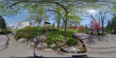 Thumbnail for Japanese Garden of Buffalo: Pathway Convergence Near Japanese Gate, Exterior
